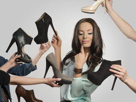Escoge un zapato que se ajuste a tu pie por completo