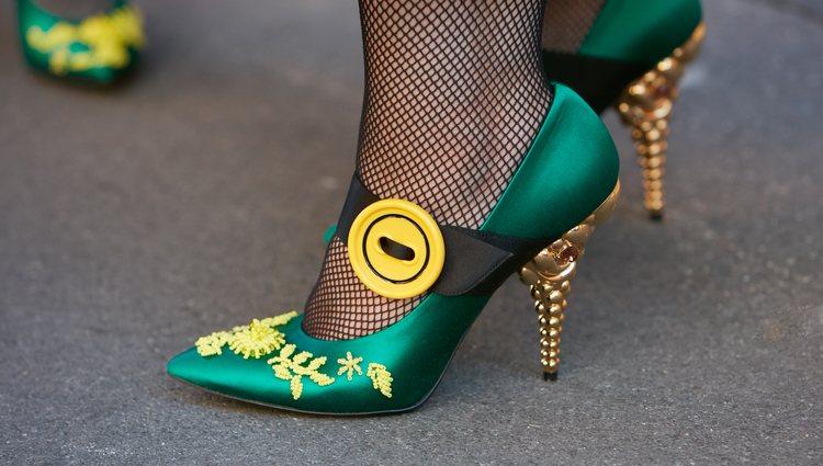 Por supuesto, el calzado no puede acaparar toda la atención
