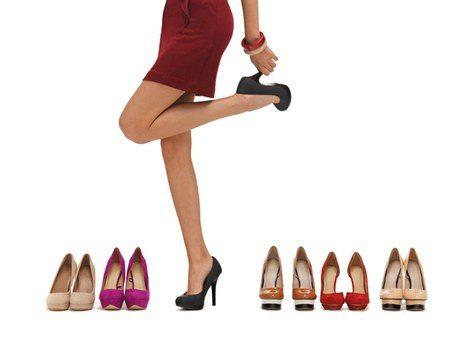 Zapatos adecuados para vestidos cortos