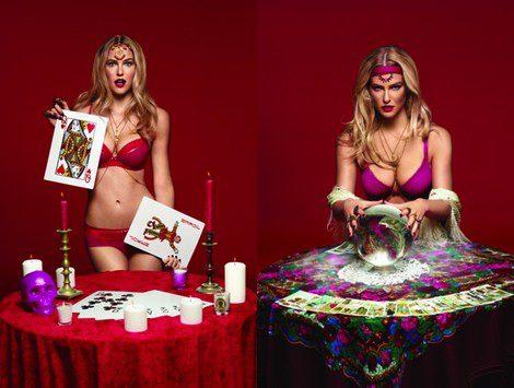 Bar Refaeli convertida en adivina para la colección otoño/invierno 2013/2014 de Passionata