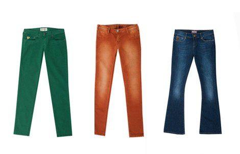 Pantalones de la colección otoño/invierno 2013 de Lois