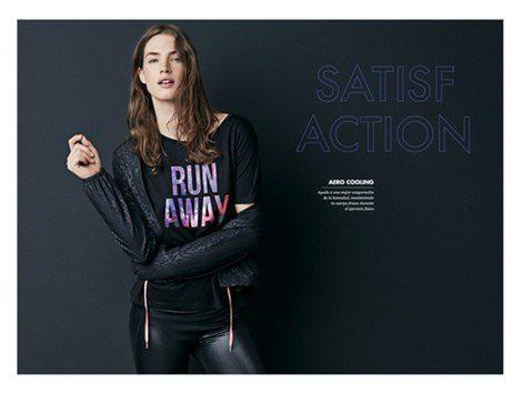 Imagen promocional de la colección 'Gymwear 2013' de Oysho. Fuente: Oysho
