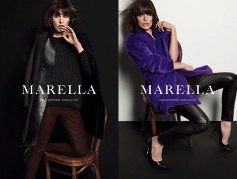 Milla Jovivich para Marella otoño/invierno 2013