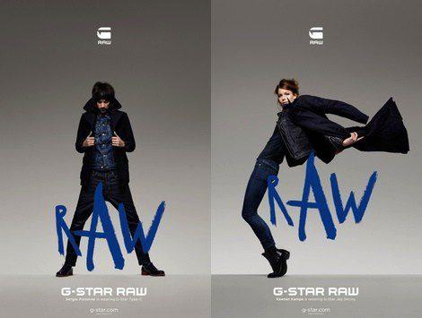 Imagen de la campaña otoño/invierno 2013 de G-Star