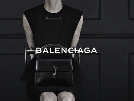 Imagen de la campaña otoño/invierno 2013 de Balenciaga