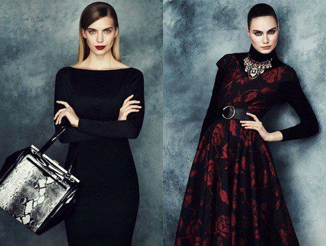 Vestidos de la colección otoño/invierno 2013 de Marks & Spencer