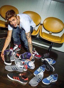 Justin Bieber para Adidas Neo Label