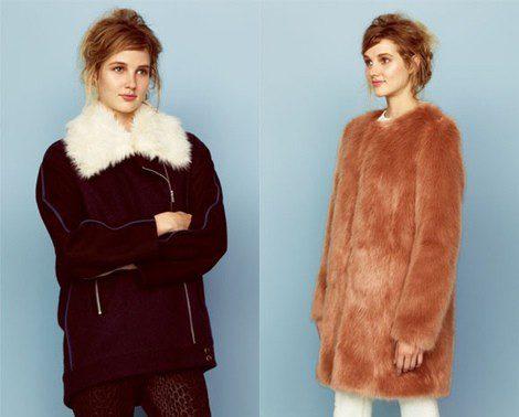 Dos abrigos de la colección otoño/invierno 2013/2014 de Asos