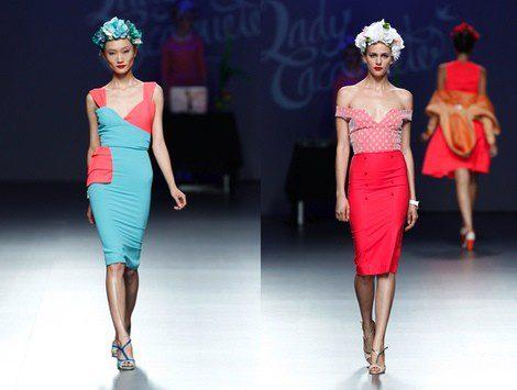 Desfile colección 'Drink&Colour' de Lady Cacahuete