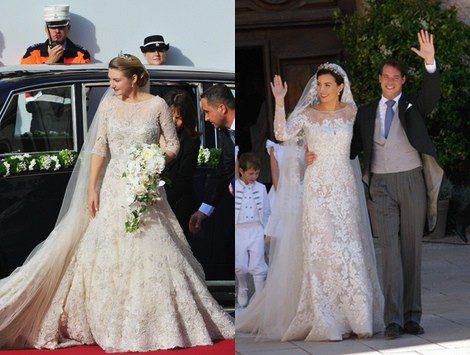 El vestido de novia de Claire Lademacher: una exquisita obra de arte ...