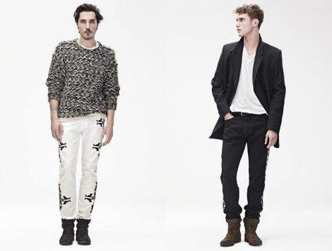 Looks masculinos de la colección otoño/invierno 2013/2014 de Isabel Marant para H&M