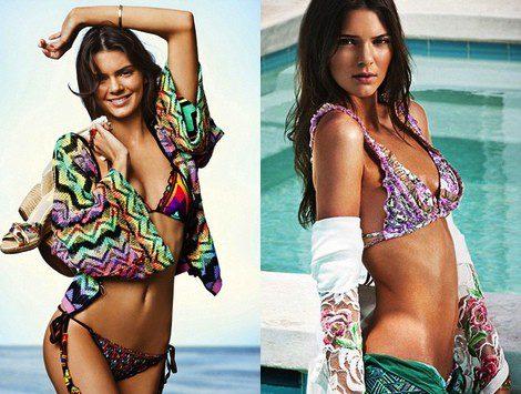 Kendall Jenner para Agua Bendita Verano 2014