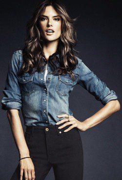 Alessandra Ambrosio para H&M Denim