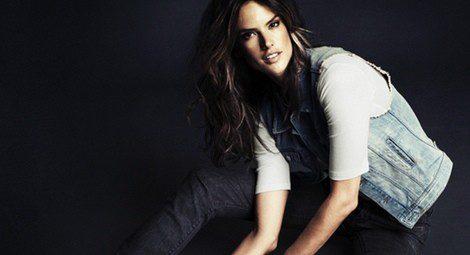 Alessandra Ambrosio presenta la línea Divided Denim de H&M