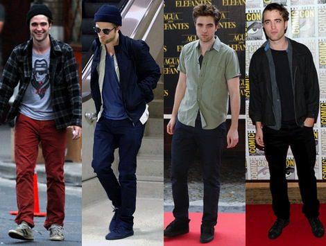 El estilo de Robert Pattinson: el chico malo de Crepúsculo