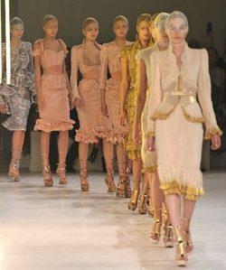 Colección primavera 2012 de Alexander McQueen