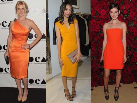 El invierno se tiñe de color con el naranja como protagonista