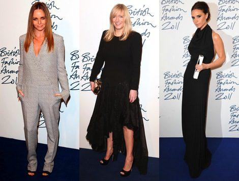 Victoria Beckham, Sarah Burton y Stella McCartney, triunfadoras de los British Fashion Awards