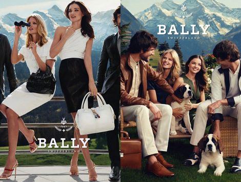 Miranda Kerr, imagen de las nuevas propuestas de Bally para primavera 2012