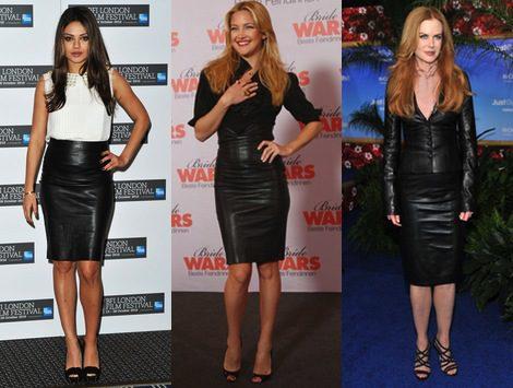 Faldas tubo, la tendencia más 'hot' para una 'femme fatale'