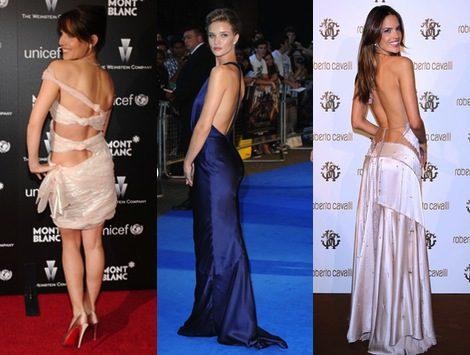 Lucir espalda, la nueva moda en la alfombra roja