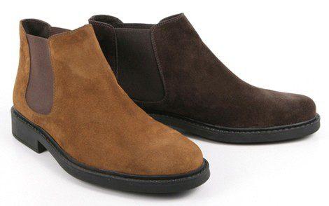 'Rubber Soul' in Chelsea Boots de Enzo Tesoti