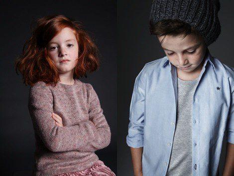 Looks de la colección otoño/invierno 2013/2014 de Adolfo Domínguez Kids