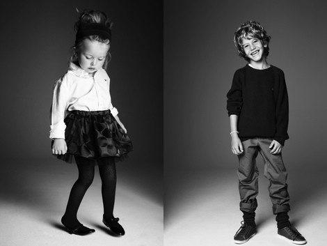 Propuestas de la colección otoño/invierno 2013/2014 de Adolfo Dominguez Kids