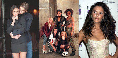 Looks de Victoria Beckham a comienzos de los 90