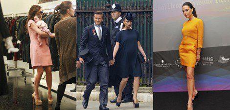 El estilo de Victoria Beckham como mamá y premamá