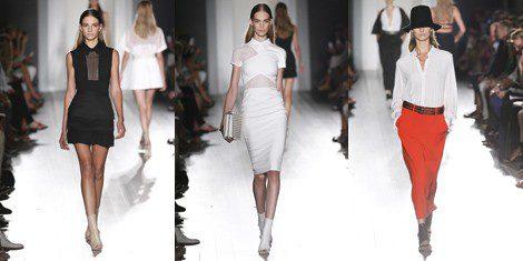 Propuestas PV 2013 de Victoria Beckham en la NY Fashion Week
