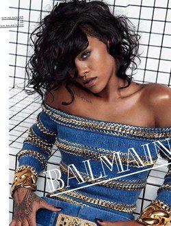 Rihanna para Balmain