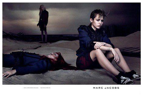 Imagen de la campaña PV14 de Marc Jacobs con Miley Cyrus