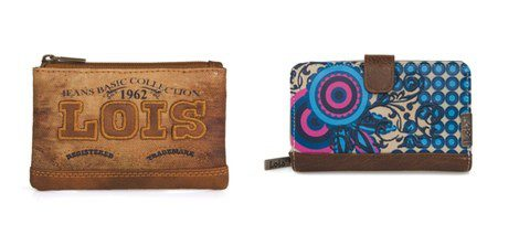 Carteras y monedero de la colección invierno 2014 de Lois