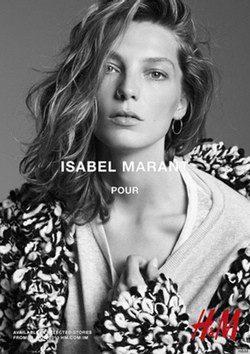 Daria Werbowy para Isabel Marant y H&M
