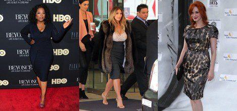 Oprah Winfrey, Kim Kardashian y Christina Hendricks