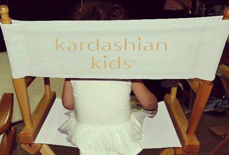 Imagen de promoción de la línea Kardashian Kids