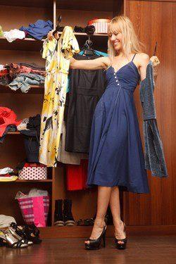 Los vestidos no pueden faltar