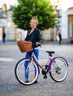 Look para pasear en bicicleta