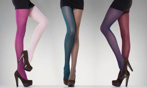 Escoge bien el color de las medias en función de la ocasión