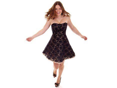Las faldas y vestidos en línea A te ayudarán a lucir más esbelta