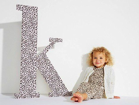 Imagen promocional de la colección debut de 'Kardashian Kids'