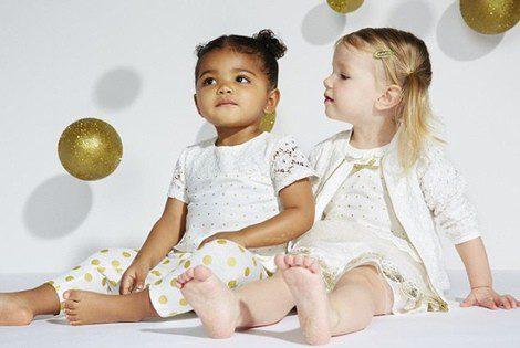 Campaña de la colección debut de 'Kardashian Kids'