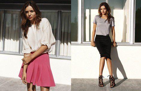 Imágenes de la campaña PV2014 de H&M con Miranda Kerr