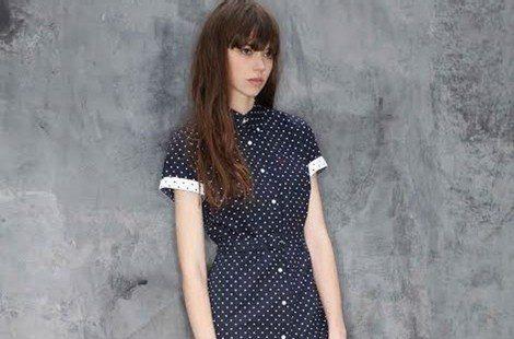 Vestido de la colección 'Polka Dot' de Fred Perry