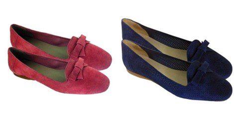 Zapato en azul cielo y azul klein de Poète