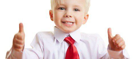 Para un niño, lo más tradicional es el traje