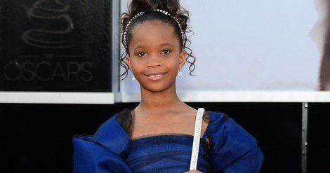 Quvenzhané Wallis en los premios Oscar 2014