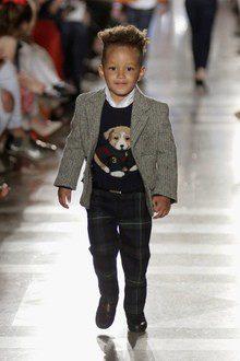 Egypt Dean desfila para Ralph Lauren