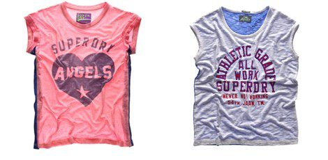 Camisetas 'casual' de Superdry